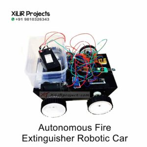 Autonomous Fire Extinguisher Robotic Car