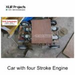 Car with four Stroke Engine