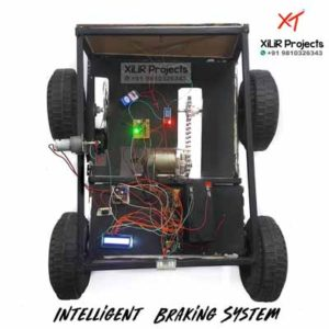 Intelligent Braking System with Disc Brake Project